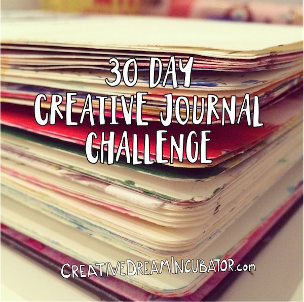 30 day Creative Journal Challenge: 30 days of Creative Journal videos to keep you on track.