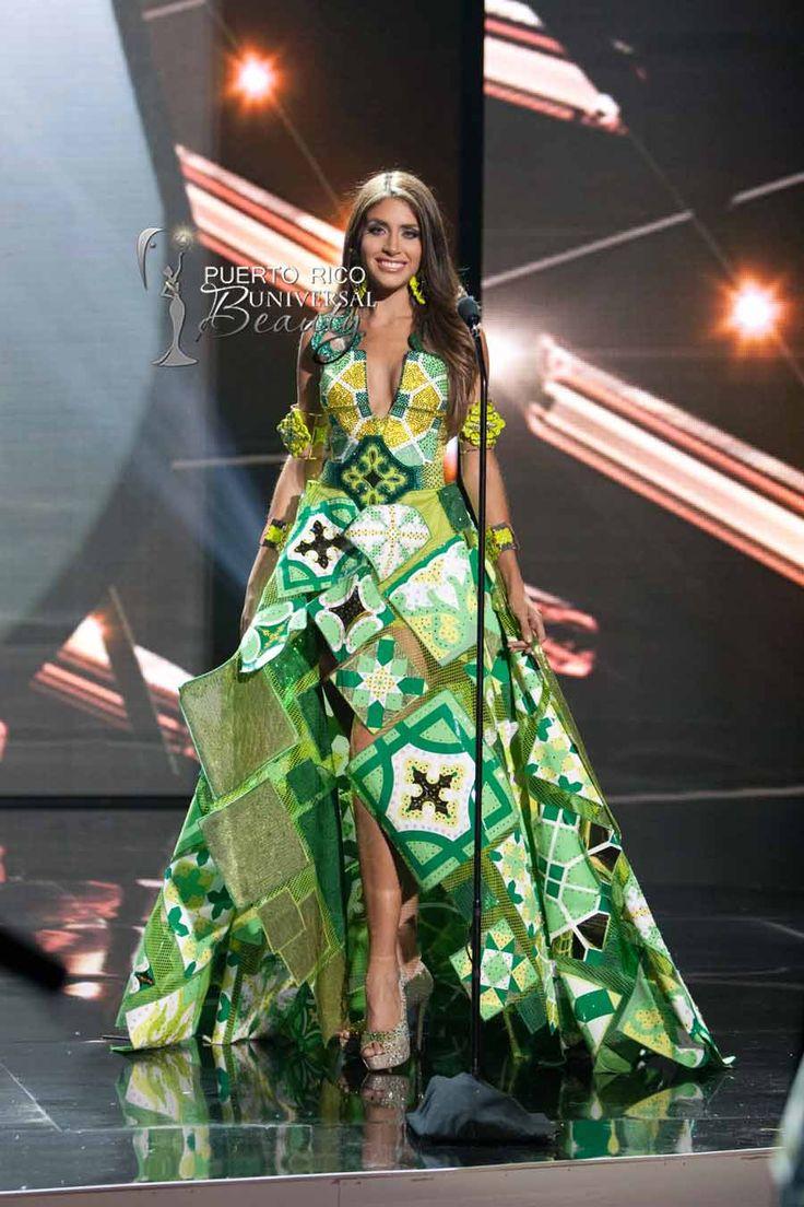 MISS UNIVERSE 2015 :: NATIONAL COSTUME | Catalina Morales, Miss Universe Puerto Rico 2015, debuts her National Costume on stage at Planet Hollywood Resort & Casino Wednesday, December 16, 2015. #MissUniverse2015 #MissUniverso2015 #MissPuertoRico #CatalinMorales #CatalinaMoralesGomez #MUPR #MUPR2015 #MissUniversePuertoRico #NationalCostume #TrajeTipico #JaerCaban #LosaCriolla #LasVegas #Nevada