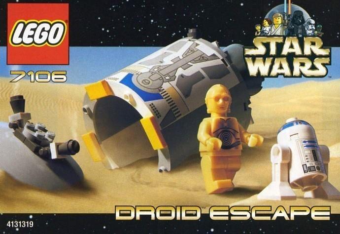 Vintage Star Wars Legos 110