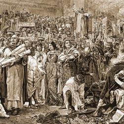 The Bonfire of the Vanities took place in Florence, Italy, on February 07, 1497. Supporters of the Dominican priest Girolamo Savonarola burned thousands of objects deemed to be associated with vanity, temptation, and sin.