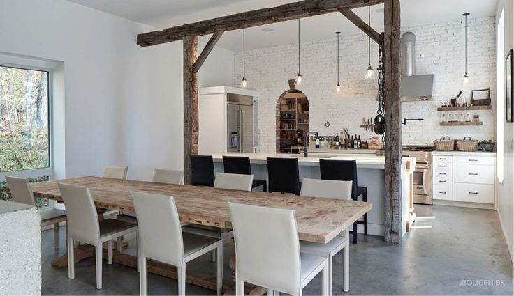 Live in a renovated barn - with lots of soul.