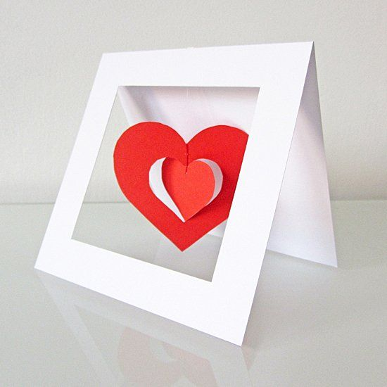 Craft a lovely card for your Valentine. Just follow the simple steps of the photo tutorial and craft it within 30 minutes.