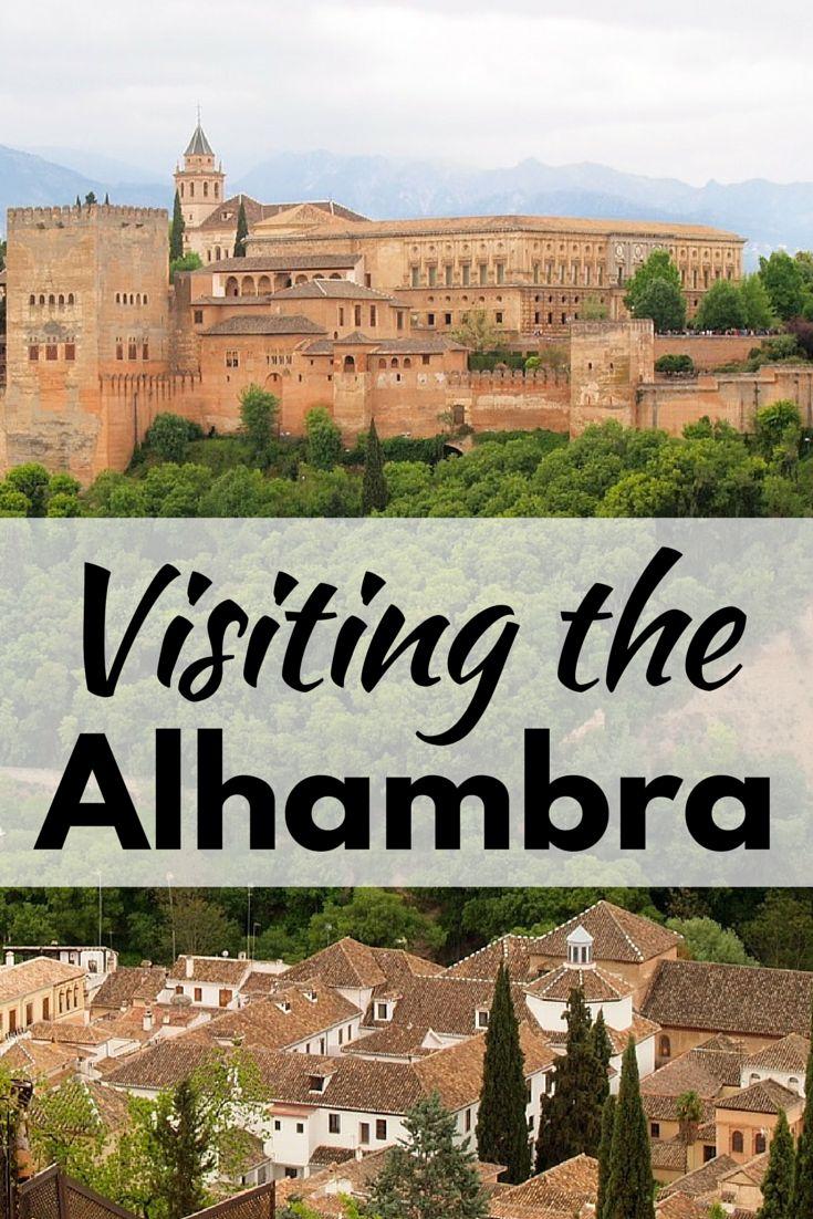 Visiting the Alhambra in Granada, Spain