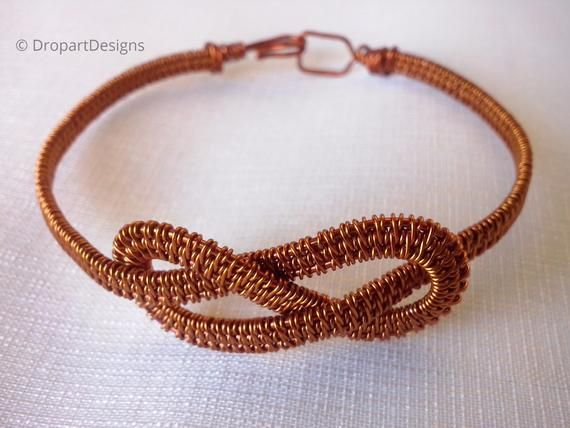 boho wires woven bracelet
