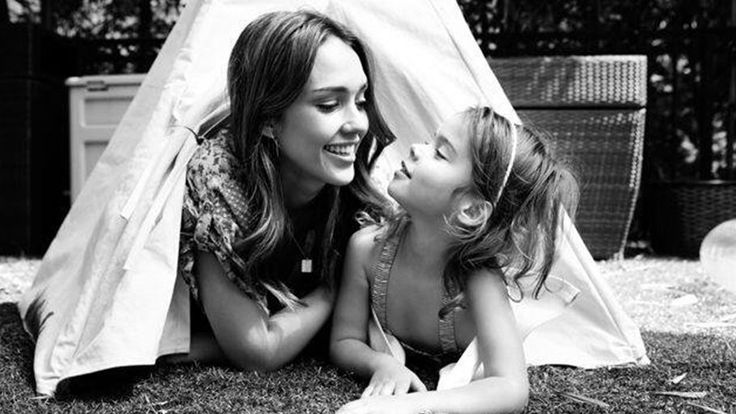 When she isn't acting or working for The Honest Co., Jessica Alba is spending what seems like every waking minute with her daughters, Haven and Honor.