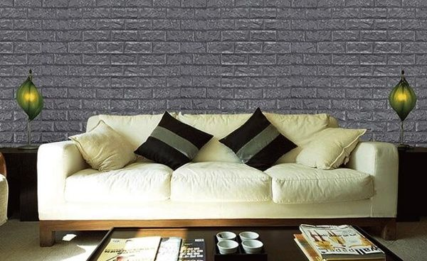 Diy Wall Stickers Home Decoration Wall Decor Living Room Bedroom Background Creative 3d Pe Foam Wallpaper Wish Wall Decor Living Room Living Room Bedroom Wall Decor Bedroom
