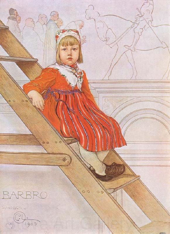 Sverige Alla Carl Larssons Oljemålningar - Sweden Oil Painting Frame 1
