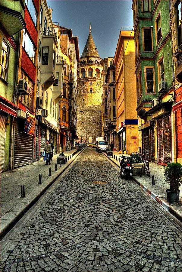 beyoglu-istanbul/galata tower