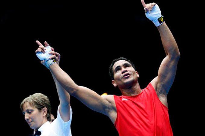 Gabriel Maestre avanzó a cuartos de final del Campeonato Mundial #Boxeo #Deportes