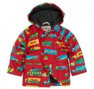 Hatley Big Rig Trucks Boys' Raincoat