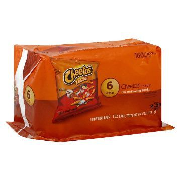 Cheetos Crunchy Cheese Flavored Snacks 6 ct