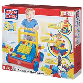 Mega Bloks 3 in 1 Build N Go Walker