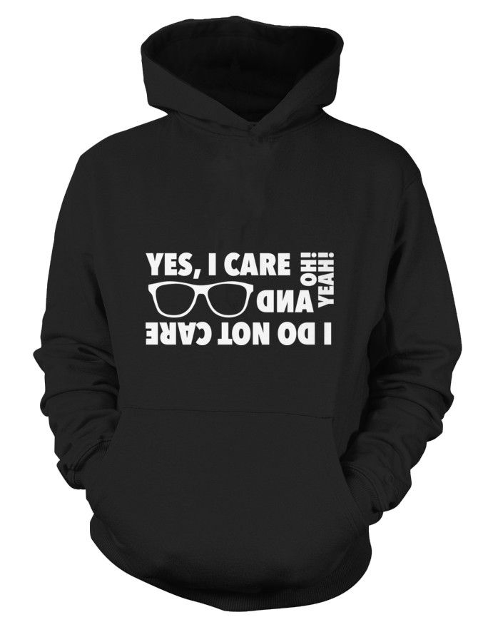 I care-and-I don't-I'm different