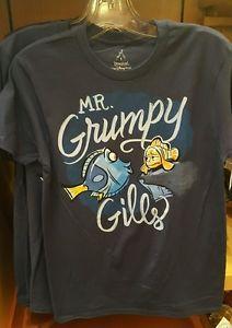 Disney Parks Finding Dory Nemo Mr Grumpy Gills Shirt T Shirt s M L New | eBay
