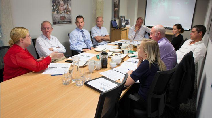 Attending an NBA Board Meeting - 2013