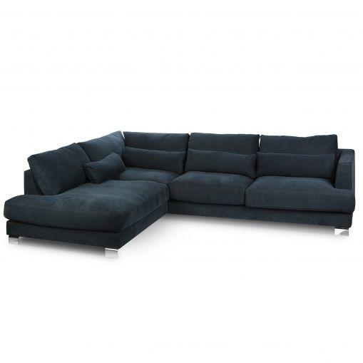 Угловой диван Brandon левосторонний купить в интернет-магазине дизайнерской мебели Cosmorelax.Ru