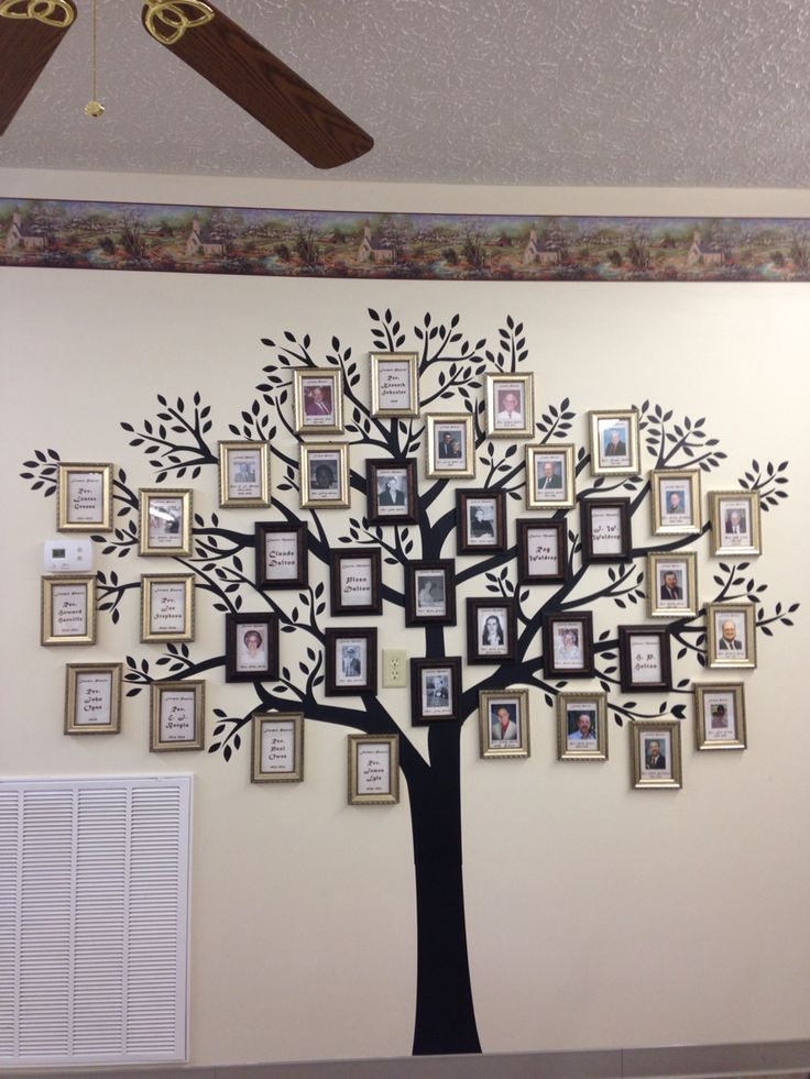 Made this tree for our church's 85th anniversary. Darker ...