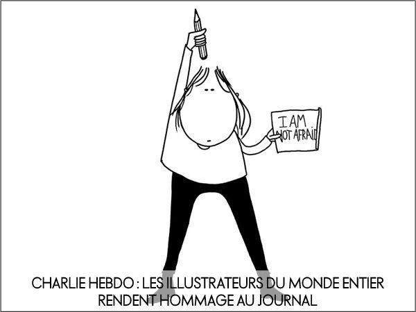 Les illustrateurs du monde entier rendent hommage au journal