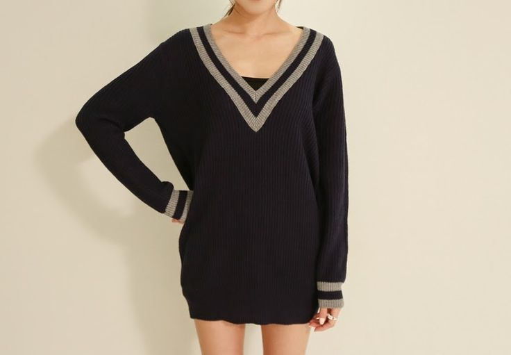 Fashion Online Clothing, Shoes and Dresses Shoemakker: Warm and trendy Knit Sweater from Shoemakker
