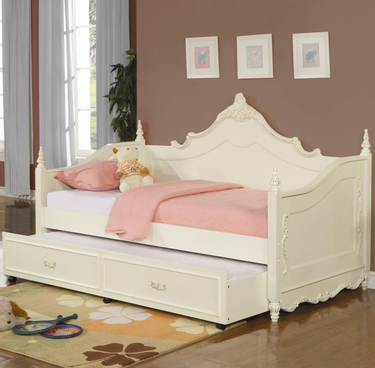 Single White Wooden Bed Wonderful Eye Catching Daybeds Uk Broken Also Slide Large Drawers