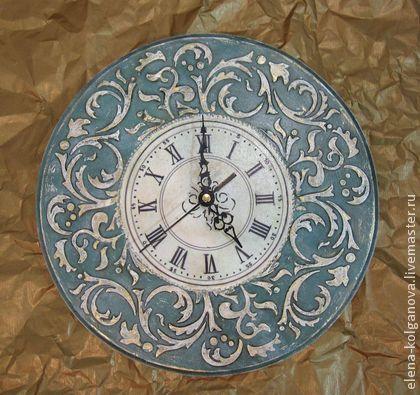"""Часы настенные интерьерные """"Барокко"""" декупаж - часы настенные,часы интерьерные"""