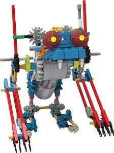 "K'NEX has many different simple robotics type sets, though I'm not sure if it is too ""pre-made"" for a maker project, but anyway, it looks cool!"