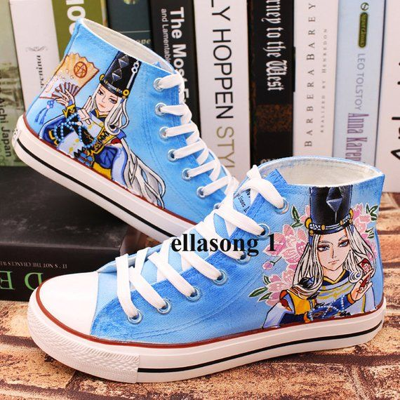 One Direction UK Flag Converse Shoes Hand Painted Canvas Sneakers