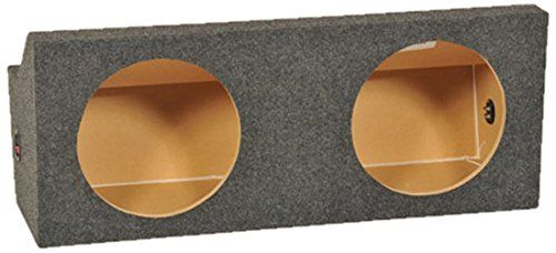 Q Power MUSTANG12 2005 Dual 12-Inch Custom Speaker Box for Ford Mustangs 2005-2014. Custom Designed for Ford Mustangs 2005-2014. Durable Charcoal Carpet. Easy Push button Terminal Cups.