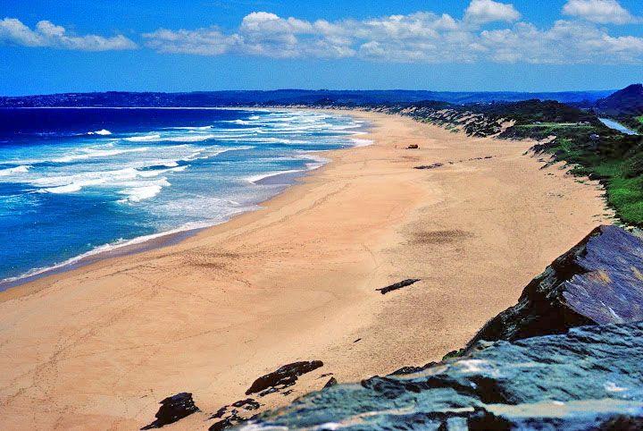 Keurbooms-beach-near-Plettenberg-Bay, garden route, south africa