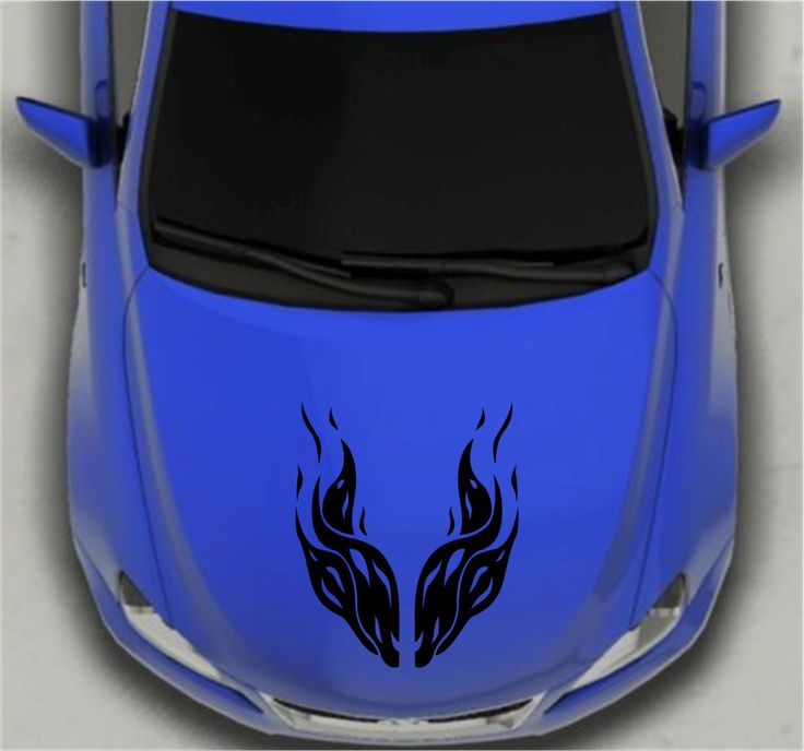 Best HHR Images On Pinterest Chevy Hhr Chevrolet And Trucks - Custom vinyl decals for car hoodsfull color graphic vinyl sticker decal skull ghost fit car hood