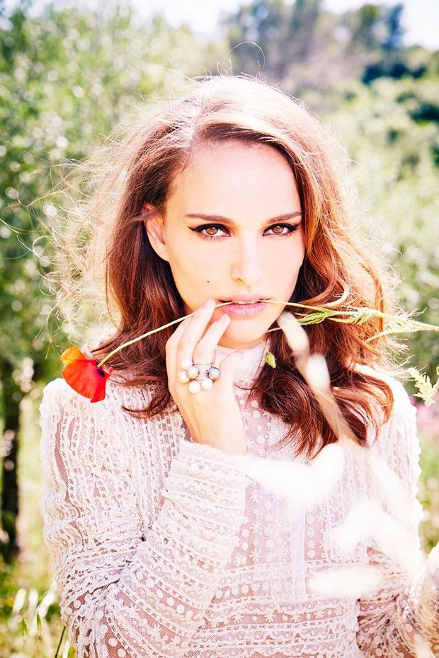 Natalie Portman by Ellen Von Unwerth for Marie Claire UK September 2015