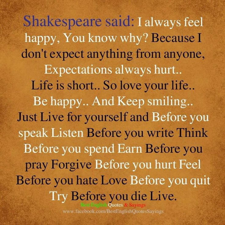 Shakespeare Quotes Happiness