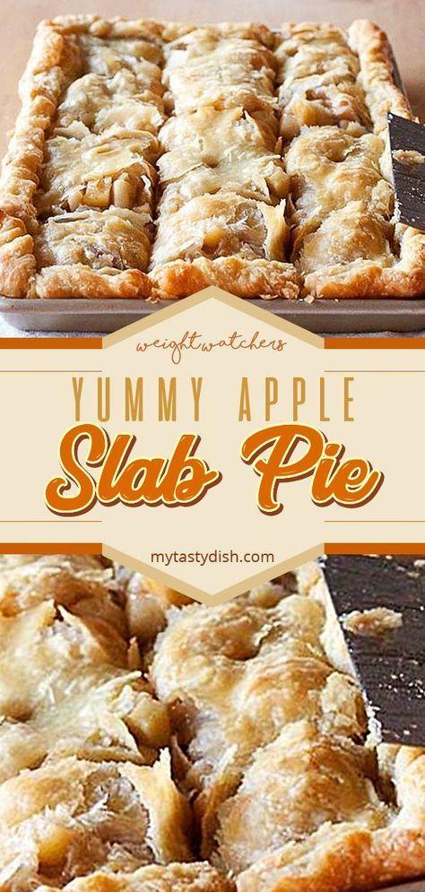 YUMMY APPLE SLAB PIE – #Apple #pie #SLAB #YUMMY