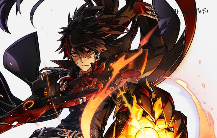 Https Elwiki Net Wiki Images 3 3e Portrait Nova Imperator 28master 29 Png Elsword Anime Character Design Fantasy Character Design