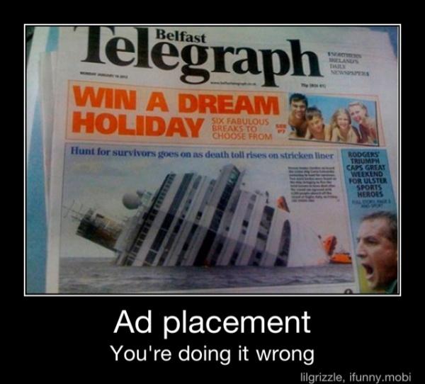 Best Ads Gone Wrong Images On Pinterest Ellen Degeneres - 24 worst advertising placement fails