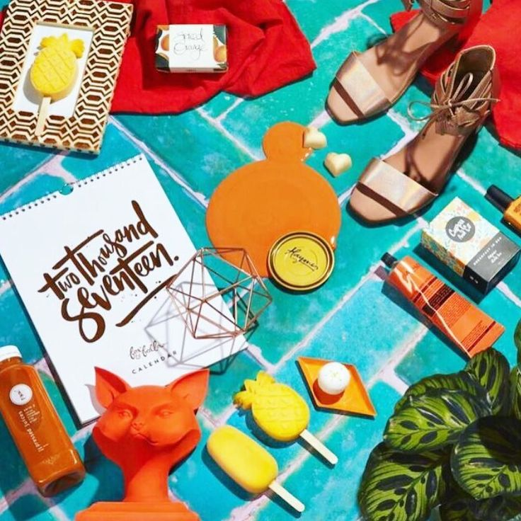 Tropicana summer flatlay via @haymespaint and @partywithlenzo  ft. Our rose gold 'Thornbill' heels. Don't worry if you have missed out on your size we have more on the way