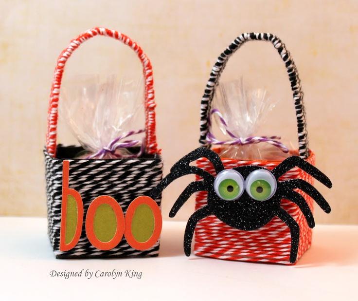 The Twinery: DIY Halloween Baskets