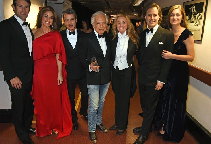 Paul Arrouet, Dylan Lauren, Andrew Lauren, Ralph Lauren, Ricky Lauren, David Lauren, and Lauren Bush Lauren