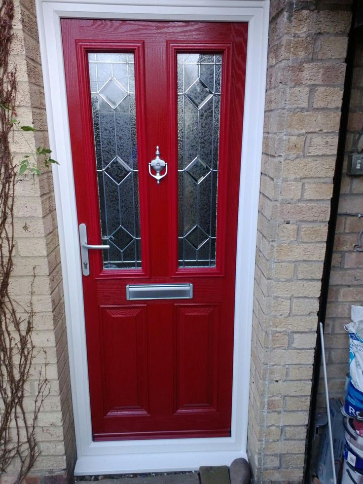 Red Composite Doors - by Global Doors our customers often ask to see real homes with & 37 best Red Composite Doors - by Global Door images on Pinterest ...