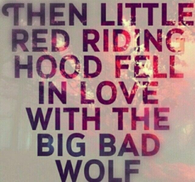 little red riding hood and the big bag wolf ...