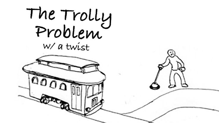 The Trolley Problem is a famous thought experiment about human ethics. This is a thought-provoking twist on the Trolley Problem.