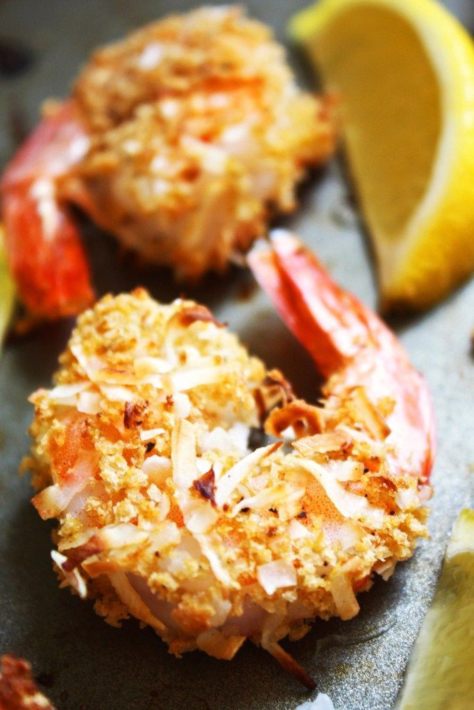 Baked Coconut Shrimp [21 Day Fix]