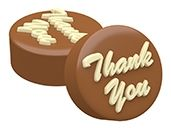 SpinningLeaf: Thank You Sandwich Cookie Molds | Chocolate Covered Oreo® Molds | Soap Molds