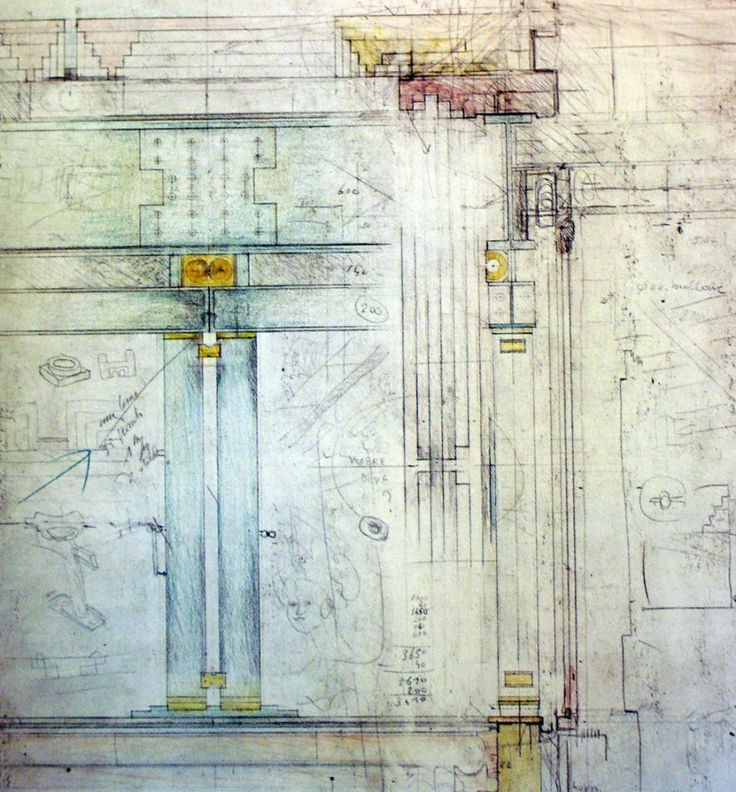 One of Carlo Scarpa's sketches