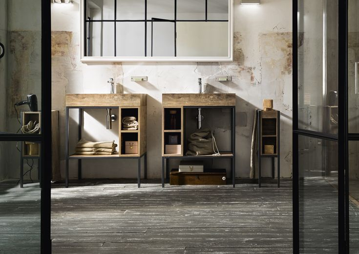 Interior Design, bagno Metropolitan Urban Chic Style