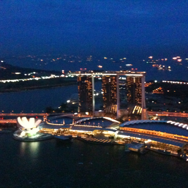 View from Altitude 1 Singapore