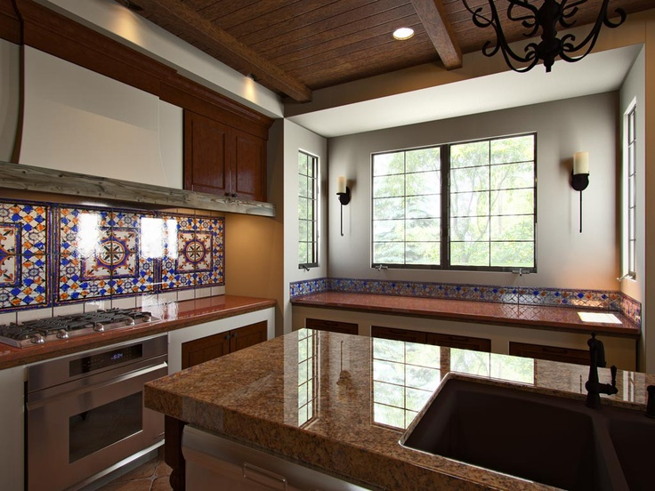 1000 Images About Spanish Style Kitchens On Pinterest Mediterranean Kitchen Islands And Tile