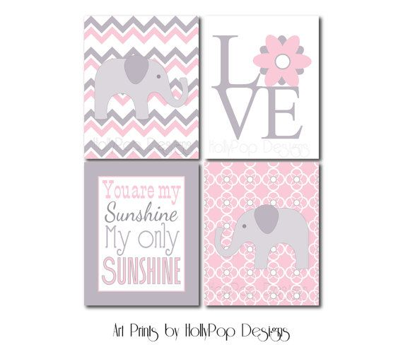 Nursery Wall DecorChildrens Wall ArtYou are My by HollyPopDesigns