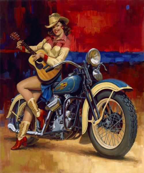Racing Cafè: Motorcycle Art - David Uhl #1