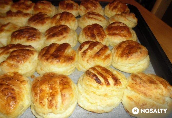 Krumplis-vajas pogácsa Helénától